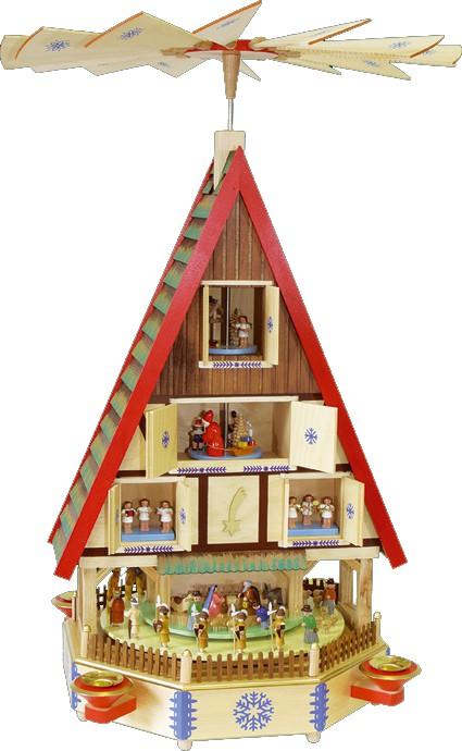 Pyramide Adventshaus
