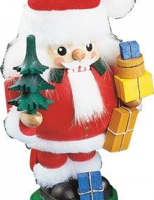 Nussknacker-Weihnachtsmann mit Baum