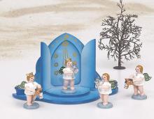 Engel mit Martinshorn ohne Krone