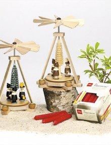 Mini-Pyramide Kurrende bunt