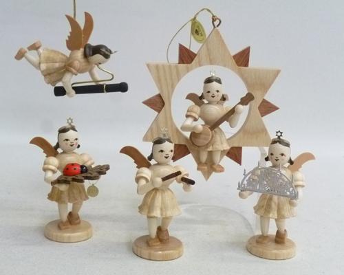 Baumbehang Engel mit Banjo