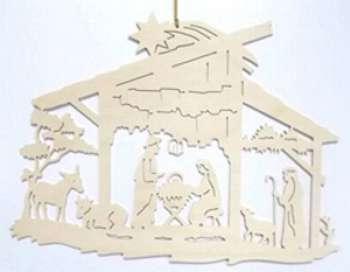 Fensterbild Christigeburt