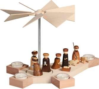 Teelichtpyramide Octogonum, Christi Geburt