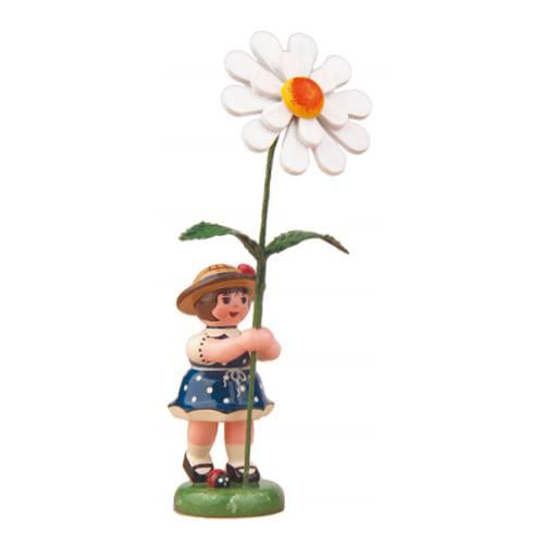 Blumenkind Mädchen mit Magerite