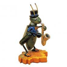 Hubrig Grille mit Saxophon