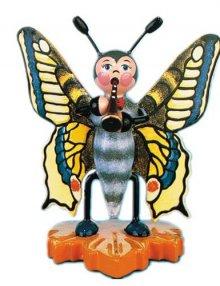 Hubrig Schmetterling mit Flöte