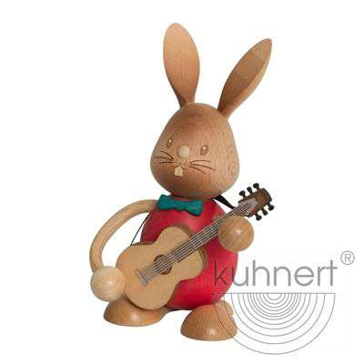 Osterhase Stupsi mit Gitarre