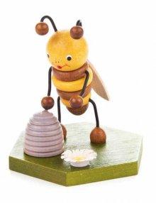 Sammelfigur Biene mit Bienenkorb