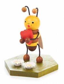 Sammelfigur Biene mit Herz