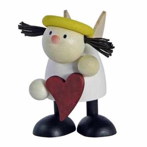 Figur mit Herz, Lotte stehend