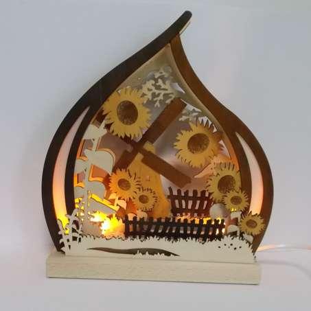 Romantikleuchte Windmühle