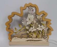 Romantikleuchte Blumenwiese