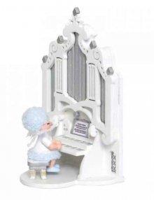 Schneeflöckchen mit Orgel