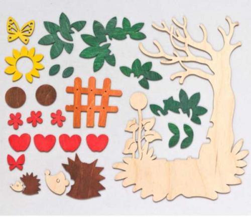 Bastelset fensterbild herbst erzgebirgskunst shop for Herbst bastelset