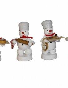 Schneemann Quartett in der Weihnachtsbäckerei (1)