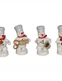 Schneemann Quartett in der Weihnachtsbäckerei (2)