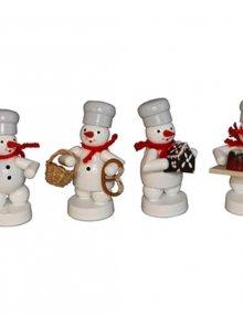 Schneemann Quartett in der Weihnachtsbäckerei (3)