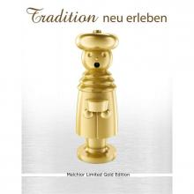 Exklusiver Räuchermann, Melchior Limited Gold Edition