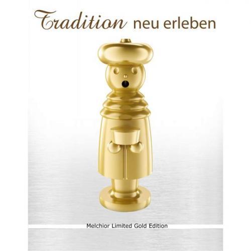 Exklusiver Räuchermann, Melchior Limited Gold Edition
