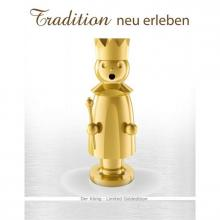 Edelstahl Räuchermann, Caspar Limited Gold Edition