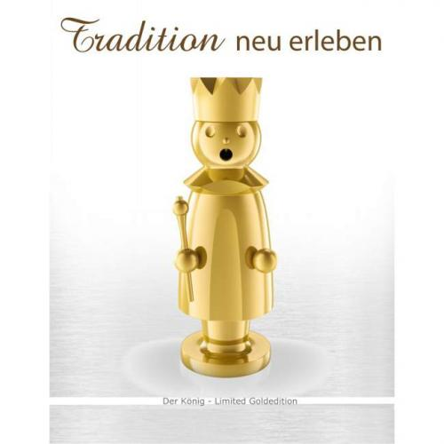 Edelstahl Räuchermann, Caspar Limited Gold Edition
