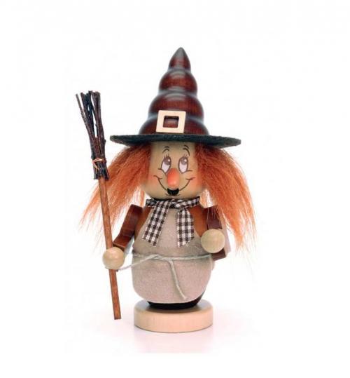 Räuchermann Miniwichtel Hexe