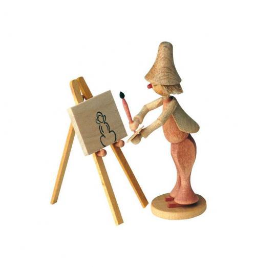 Wilhelm Busch Figur - Maler Klecksel