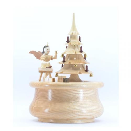 Spieldose Weihnachtstraum mit Engel
