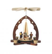 spitzbogenpyramide erzgebirgsfiguren
