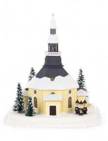 Lichterhaus Seiffener Kirche mit Kurrende