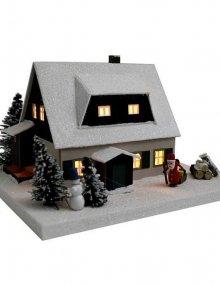 lichterhaus erzgebirgshaus mit vordach