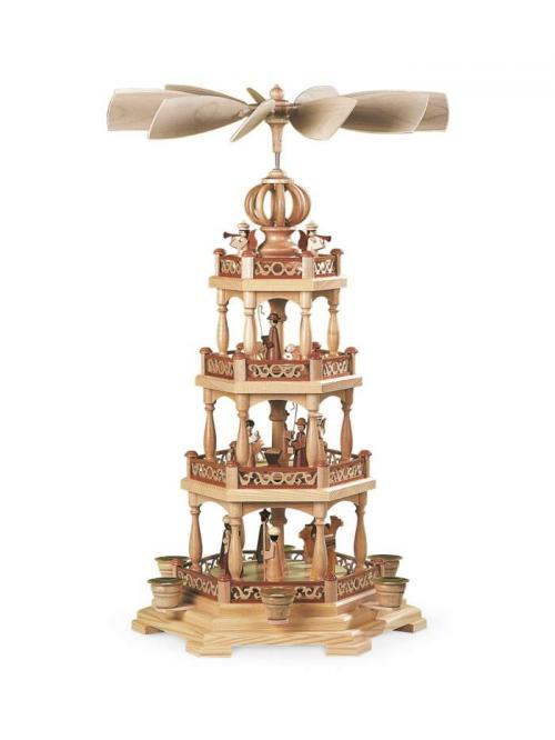 pyramide heilige geschichte mit engel