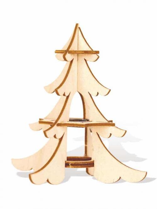 Schwibbogen Aufstecker im Baum-Design