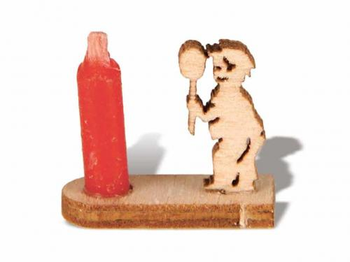 Miniatur Kerzenhalter Junge
