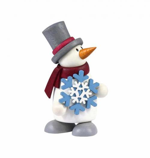 Figur mit Herz, Fritz mit Schneeflocke