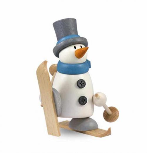Figur mit Herz, Fritz mit Ski