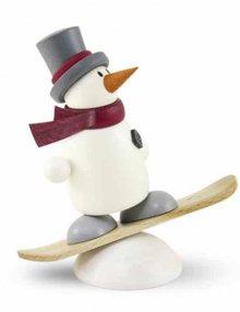 Figur mit Herz, Fritz mit Snowboard