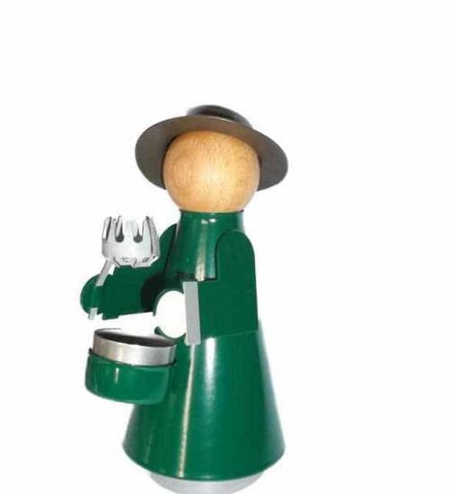 HUSS - Karzlmaa mit Hut und Kappe grün