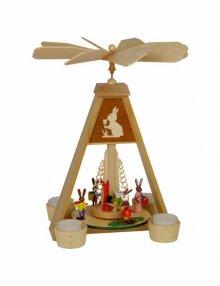 Osterhasen Teelichtpyramide
