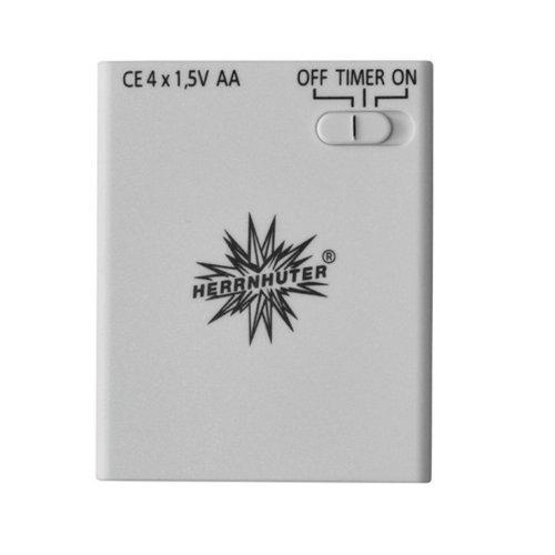 Herrnhuter Batteriehalter Zur Beleuchtung von 1 Stern (A1e,A1b,I1) mit Timer NEUE Version 2021