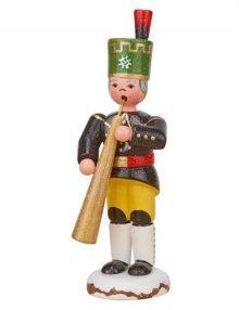 Winterkind Bergmann mit Russisches Horn