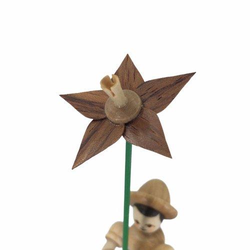 Blumenkind mit Lilie, natur