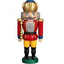 Nussknacker König rot, 25cm