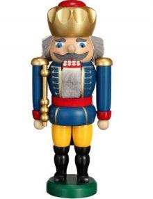 Nussknacker König blau, 25cm