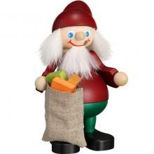 Räuchermann Weihnachtsheinzel mit Sack