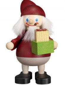 Räuchermann Weihnachtsheinzel mit Geschenken