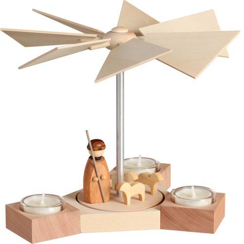 Teelichtpyramide Hexagonum, Schäfer