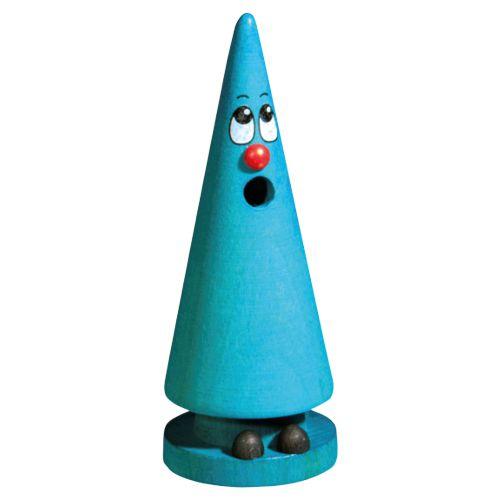 Crottendorfer Räucherfigur Mini-Ziegenbein, blau