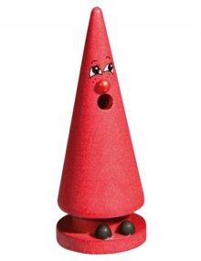 Crottendorfer Räucherfigur Mini-Ziegenbein, rot