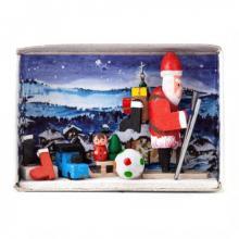 Zündholzschachtel Verlorene Weihnachtsgeschenke